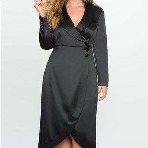 Eloquii Tuxedo Dress sz 18 NWT